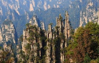 长沙出发到黄龙洞、优德88中文官网森林公园、天门山、凤凰五日游
